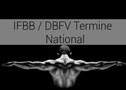 IFBB / DBFV Termine – National