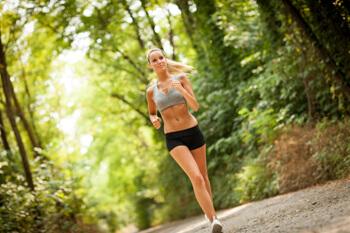 Cardio Run Laufen Wald