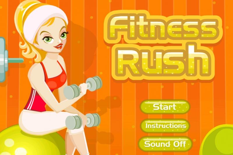 Spiele jetzt Fitness Rush und betreibe dein eigenes Fitnessstudio