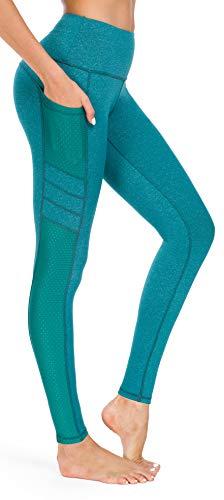 SugarPocket Damen-Yogahose, Fitness-Leggings Gr. M, grün