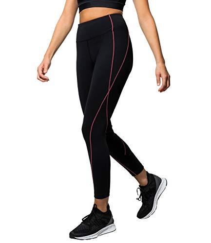 Flatik Damen Bel/üftung Schwei/ß Netzoberfl/äche Sport Gym Yoga Laufen Fitness Leggings Hose