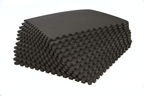 bonsport Schutzmatten-Set - 36 x Puzzle Matte á 40 x 40 cm :: Bodenmatte Puzzlematte Fitnessboden