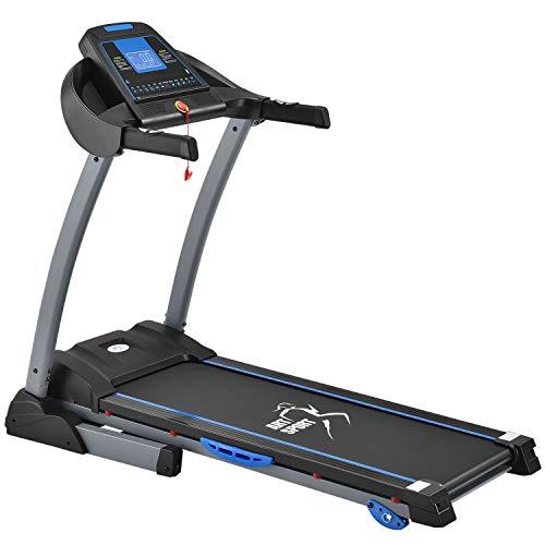 ArtSport Laufband Speedrunner 3500 klappbar mit Kinomap-Funktion, 2 PS Motor, 14 km/h, 24 Programme – Heimtrainer elektrisch LCD Display & Steigung