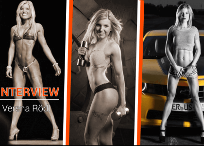 Im Interview – IFBB Fitness Athletin – Verena Rödl