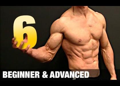 6 Minuten Sixpack Workout zum nachmachen