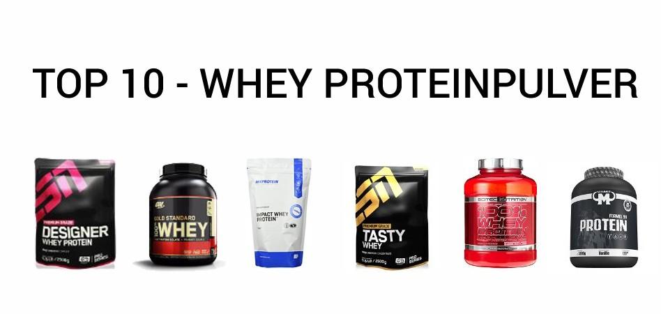 TOP 10 – Der Beliebtesten Whey Proteinpulver