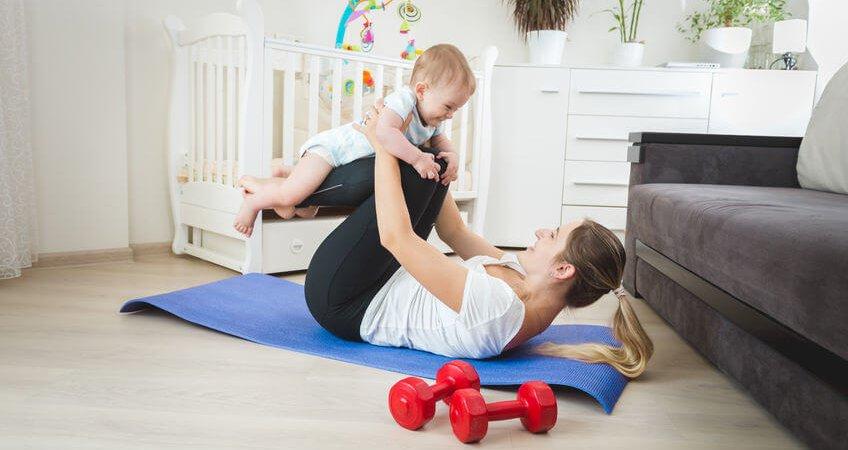Fit mit Baby – Erfahre hier wie du auch mit Baby schnell wieder Fit wirst