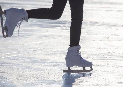 Die Fitnessvorteile von Eislaufen